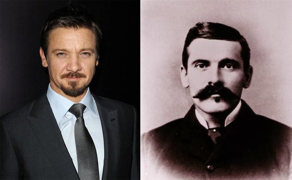 jeremy renner as doc holliday in new film gothic western