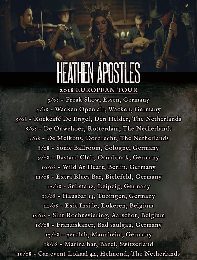 Heathen Apostles European Tour Dates