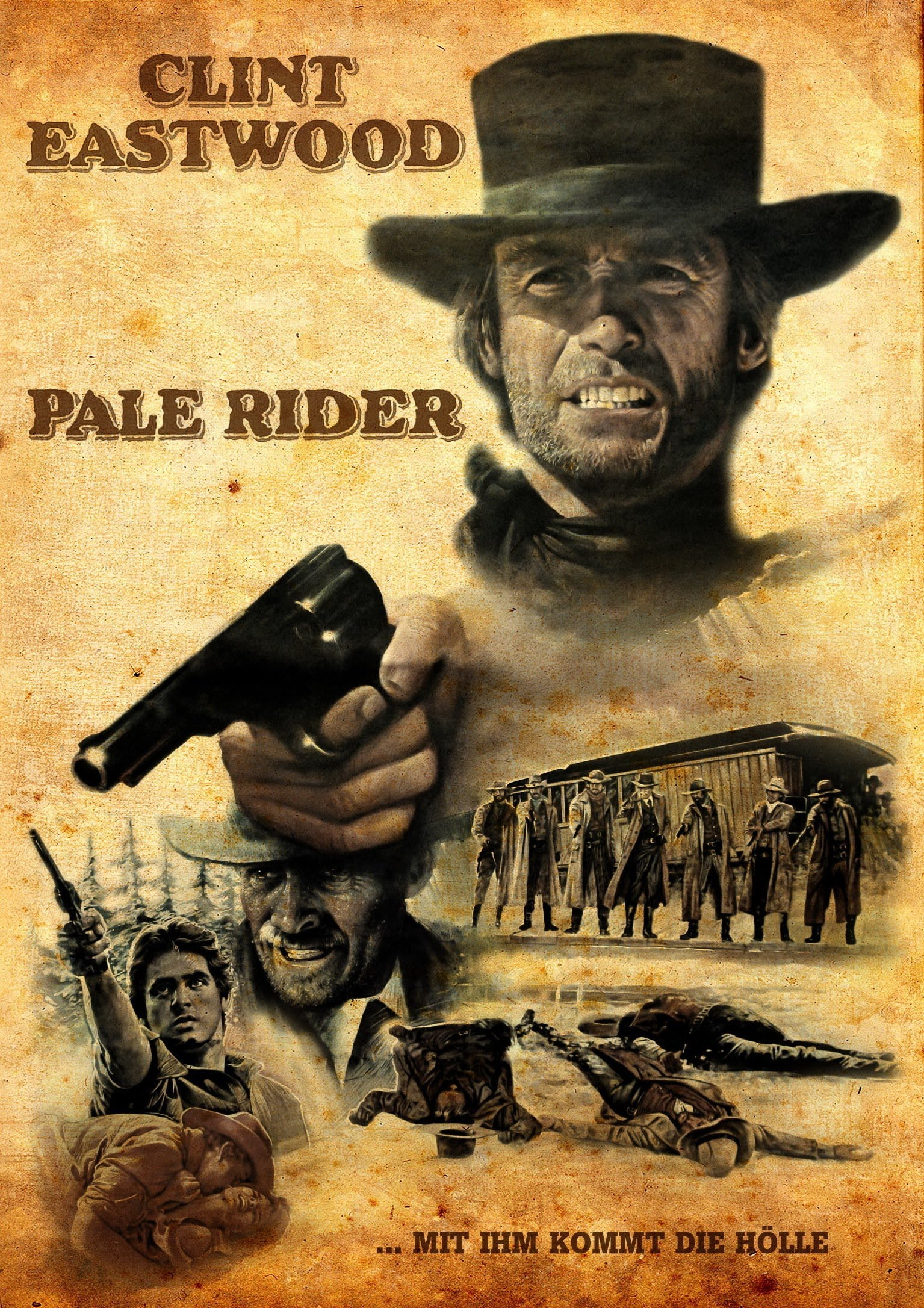 Clint Eastwood's Pale Rider (1985) Gothic Eurowesterns