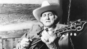 King of Bluegrass Bill Monroe Mandolin Vandalized