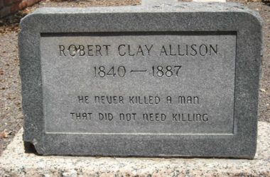 Clay Allison's Death