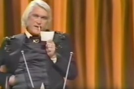 Charlie Rich Burns Award card